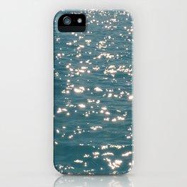 More Diamond sea iPhone Case