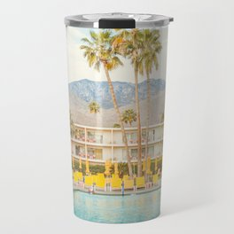 Poolside in Palm Springs - Travel Photography Travel Mug