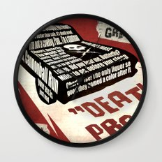 Deathproof redux Wall Clock