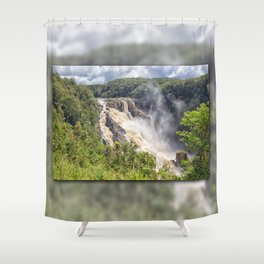 Magnificent Barron Falls Shower Curtain