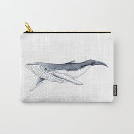 Baby humpback whale (Megaptera novaeangliae) Carry-All Pouch