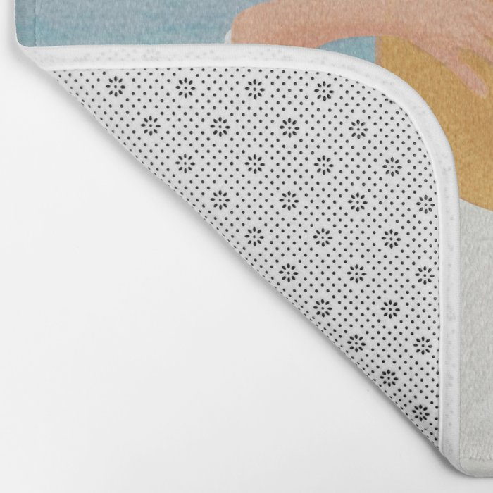 Summer Vacation I Bath Mat