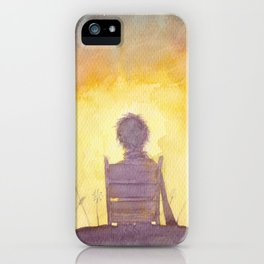 47 Sunsets iPhone Case