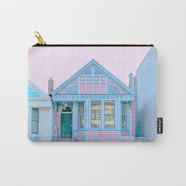 San Francisco Painted Lady Victorian House Carry-All Pouch
