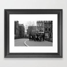 Women of amsterdam Framed Art Print