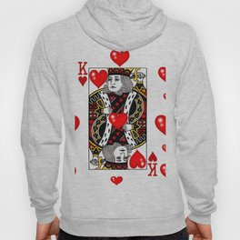 KING OF HEARTS CASINO FACE CARD ART Hoody