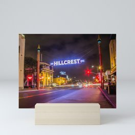 Hillcrest (San Diego) Sign - SD Signs Series #3 Mini Art Print