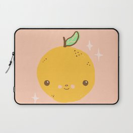 kawaii orange Laptop Sleeve