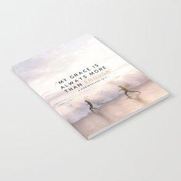 MORE THAN ENOUGH GRACE Notebook