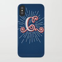 """randy c iPhone & iPod Cases featuring """"C"""" by Madrid is Fun"""