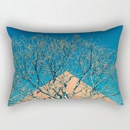 Fantasía (en azul y amarillo) Rectangular Pillow