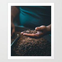 Roasted Coffee 3 Art Print