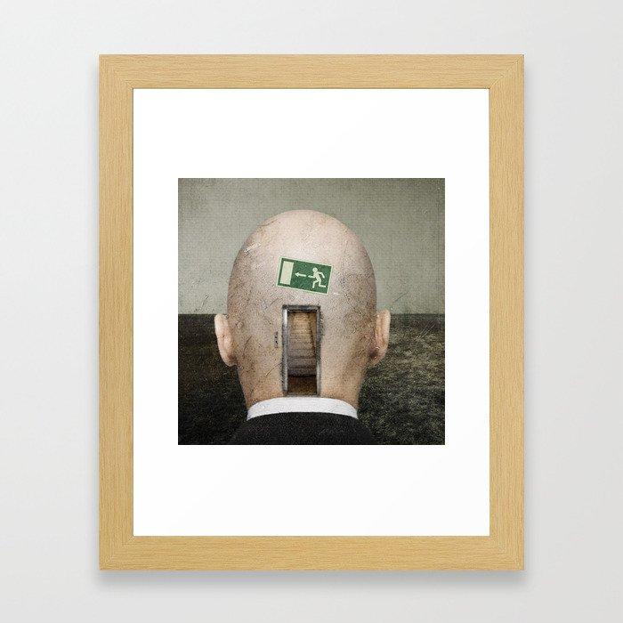 Seven Levels Framed Art Print