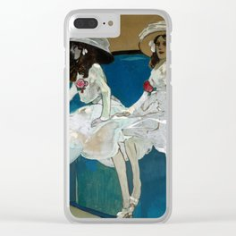 Xavier Gose - The Two Sisters Clear iPhone Case