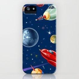 rockets in traffic iPhone Case
