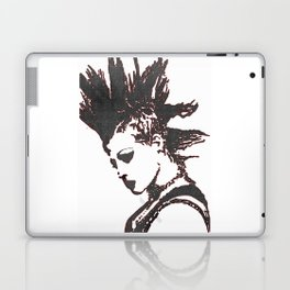 punk rocker girl Laptop & iPad Skin