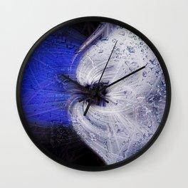 Twirls in Universum Wall Clock