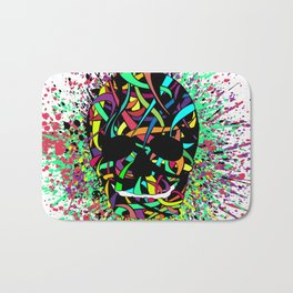 COLOUR SKULL  Bath Mat