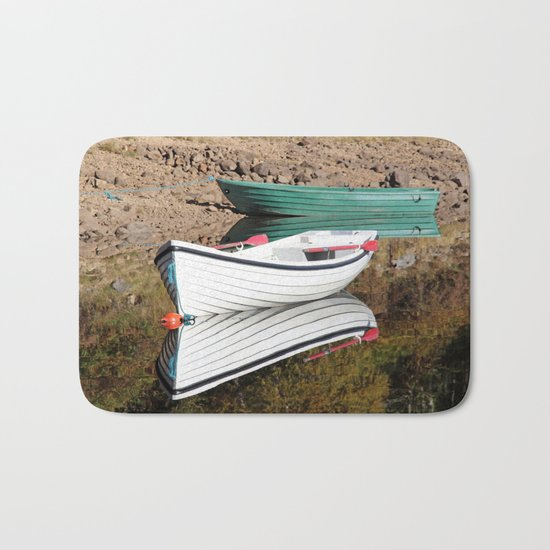 Boating for beginners Bath Mat