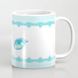 Sailor Neptune Eyes Coffee Mug