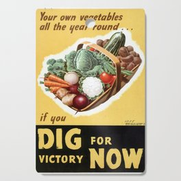 Dig For Victory Cutting Board