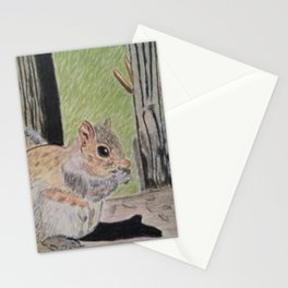 Squirrel and Moose Stationery Cards
