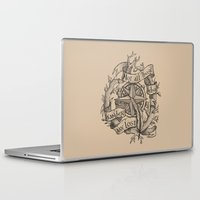 "not all who wander are lost Laptop & iPad Skins featuring ""Not all those who wander are lost"" by Rose24601"