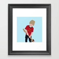 Shoe Gazer Framed Art Print
