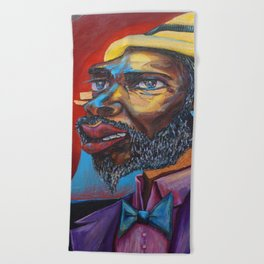 Thelonious Monk Beach Towel