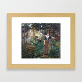 Jules Bastien-Lepage Joan of Arc Framed Art Print