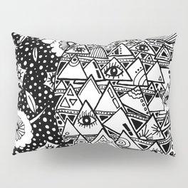 Zentangle Design   Black & White   Inspiration Klimt Pillow Sham