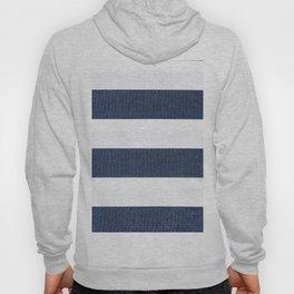 Nautical Blue & White Stripes Hoody