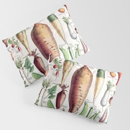 Adolphe Millot - Légumes pour tous - French vintage poster Pillow Sham