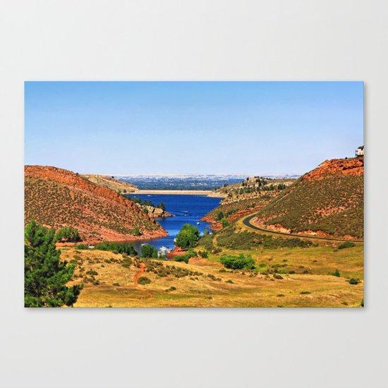 Fort Collins Canvas Print