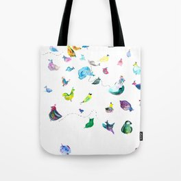 Chickens! Tote Bag
