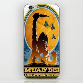 Dune MUAD' DIB iPhone Skin