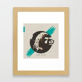 Gaze73 Framed Art Print