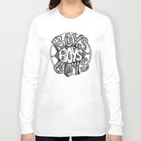 boys Long Sleeve T-shirts featuring BOYS by Kelsey Walsh