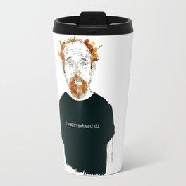 Louis CK… I was an awkard kid… quote Travel Mug