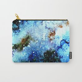 Cool Blue Galaxy Carry-All Pouch