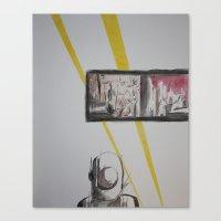 clockwork Canvas Prints featuring Clockwork by MassiveTrain
