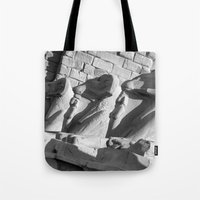 guardians Tote Bags featuring Loyal Guardians by Brian Raggatt