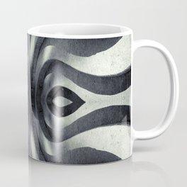 Stone Face Illusion of Fall Coffee Mug