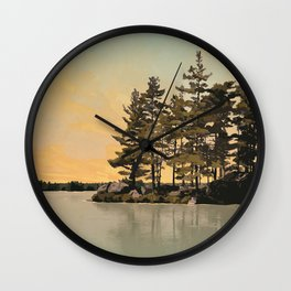 Frontenac Provincial Park Poster Wall Clock