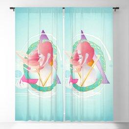 Pisces :: Zodiac Geometry Blackout Curtain