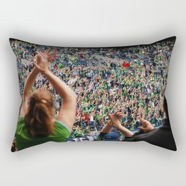 All as one for the Sounders!! Rectangular Pillow