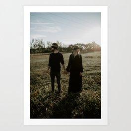 Tied in Love II Art Print