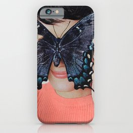 Morpho Butterfly iPhone Case