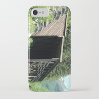 john snow iPhone & iPod Cases featuring Snow Shed by NoelleB