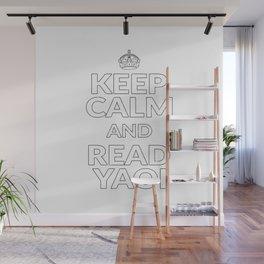 Keep Calm and Read Yaoi Fujoshi Anime Meme Gift Wall Mural